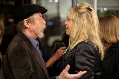 John Hurt and Pattie Boyd