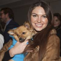 Natalya Wolter and Bear