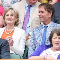 Lady Lloyd-Webber and Sir Cliff Richard