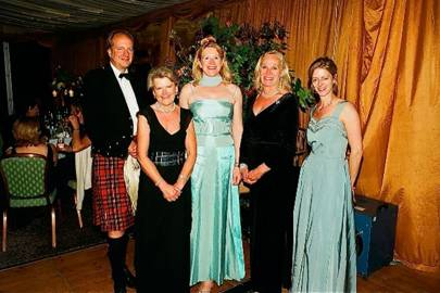 Lord Inchyra, Sarah Wimberley, Katie Stewart, Louisa Leader and Lucy Holt