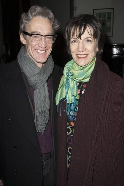 Guy Paul and Dame Harriet Walter
