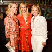 Kate Reardon, Tania Bryer and Mariella Frostrup