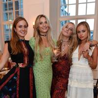 Lady Marina Windsor, Isabella Samengo-Turner, Adriana Samengo-Turner and Lady Amelia Windsor