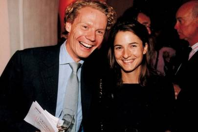 Mr Alexander Nix and Miss Bianca Gerlinger