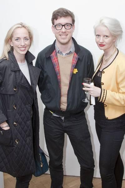 Victoria Pattinson, Joel Gethin Lewis and Megan Piper