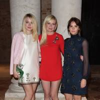 Dakota Fanning, Kirsten Dunst and Felicty Jones
