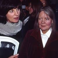 Josephine Hart and Dame Iris Murdoch