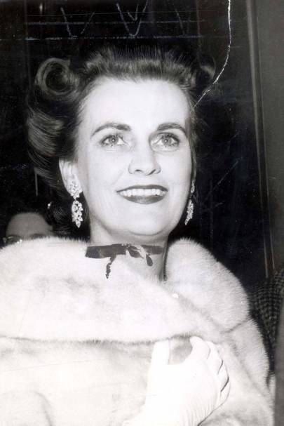 At the Premiere Of Kings Of Kings in 1961