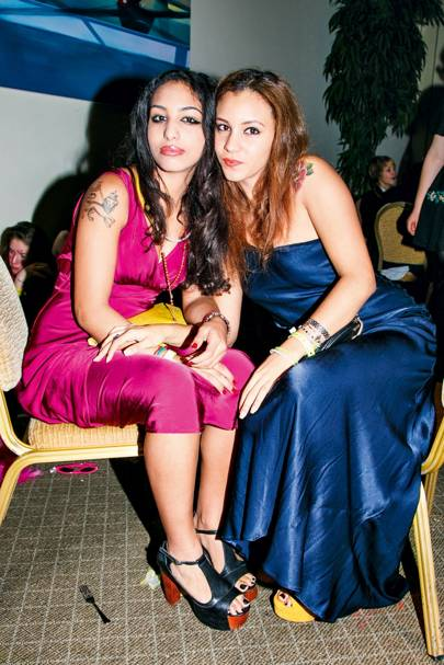 Lucrezia and Jessica Haile Selassie