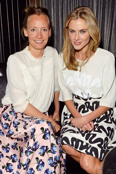 Martha Ward and Donna Air