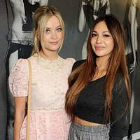 Laura Whitmore and Zara Martin
