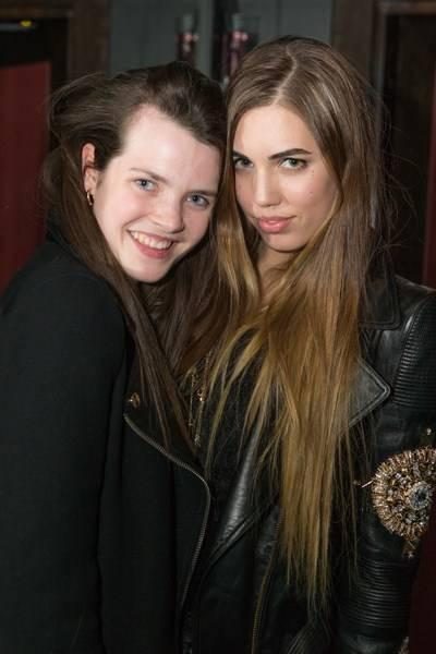 Katherine Alexander and Amber Le Bon