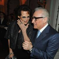 Claudia Cardinale and Martin Scorsese