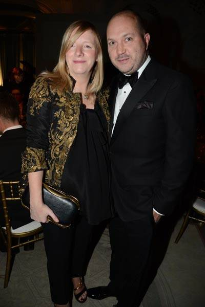 Sarah Burton and David Burton