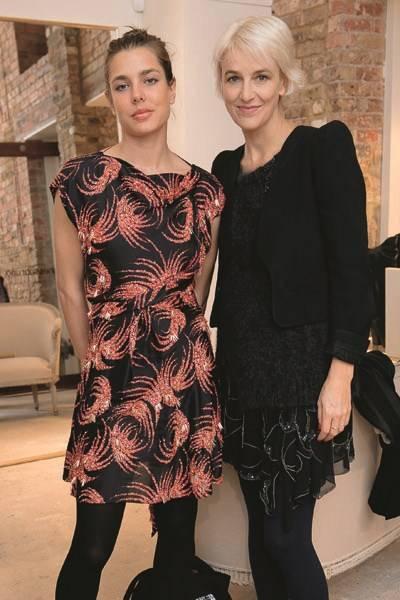Charlotte Casiraghi and Vanessa Bruno