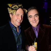 Hugh Grant and James Nesbitt