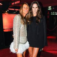 Anna Dello Russo and Izabel Goulart