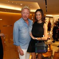 Boris Becker and Lilly Becker