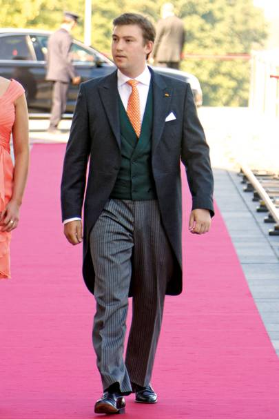 Prince Sébastien of Luxembourg, 25