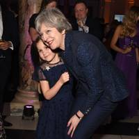 Aliena Wigan and Theresa May