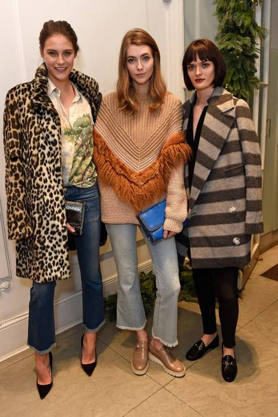Charlotte Wiggins, Eve Delf and Samantha Rollinson