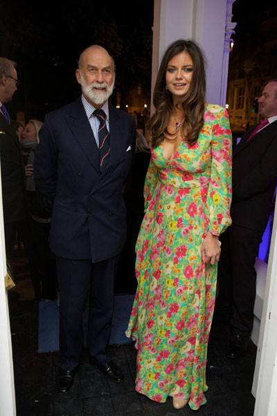 Prince Michael of Kent and Lady Natasha Rufus Isaacs