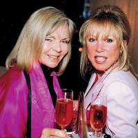 Mrs Nick Cook and Patti Boyd