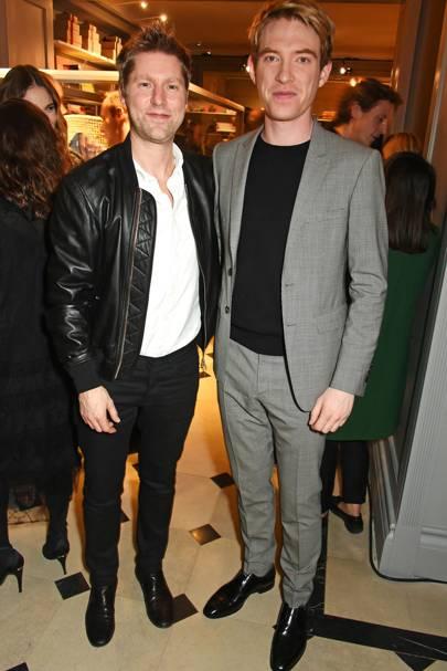 Christopher Bailey and Domhnall Gleeson