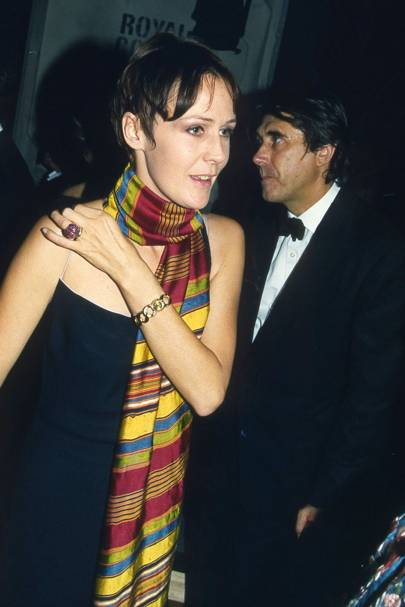 Mrs Bryan Ferry and Bryan Ferry