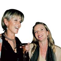 Mrs Nigel Barton and Vanessa Branson