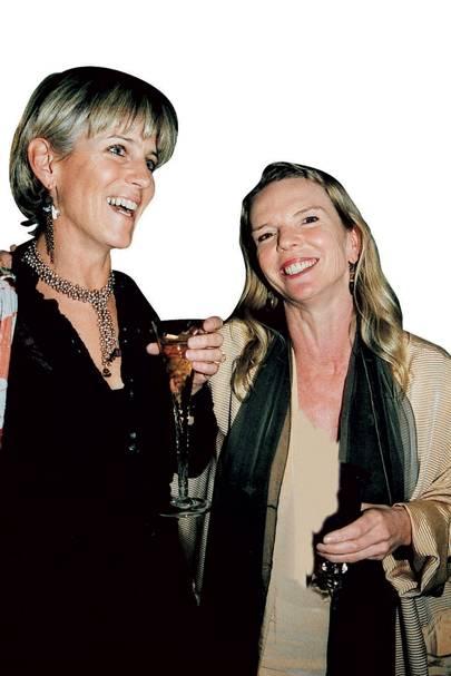 Mrs Nigel Barton and Vanessa Branson