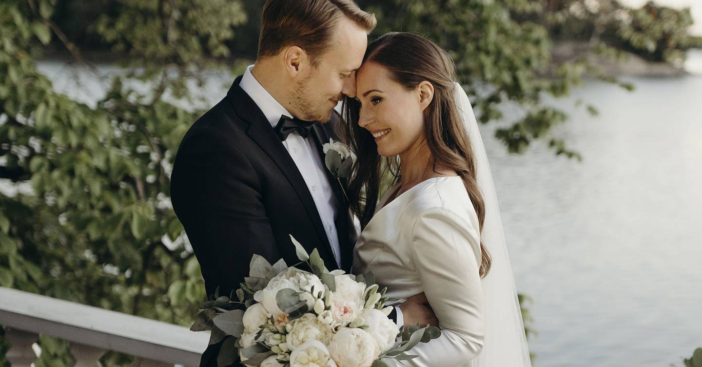 Finnish Prime Minister Sanna Marin marries her partner of 16 years