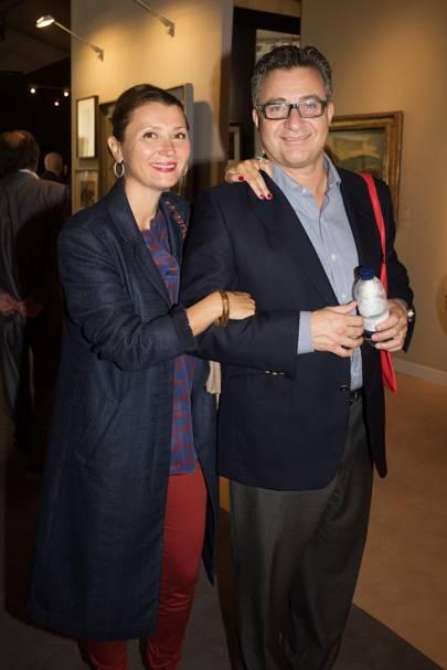Hinda Aron and Simon Aron