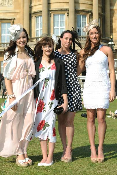 Hannah Whelan, Rebecca Tunney, Beth Tweddle and Imogen Cairns