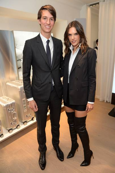 Alexandre Arnault and Alessandra Ambrósio