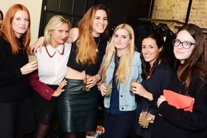 Abi Curran, Samantha Emson, Constanza Di Gennaro, Francesca Mullin, Natalie Solomon and Emily Cuthbert