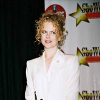 At the ShoWest gala awards, 2002