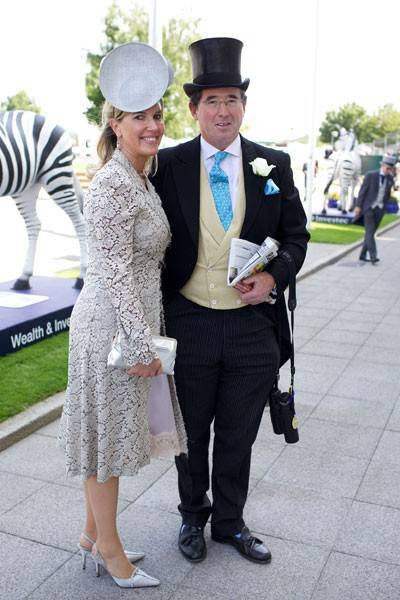 Emma Benyon and Lord Grimthorpe
