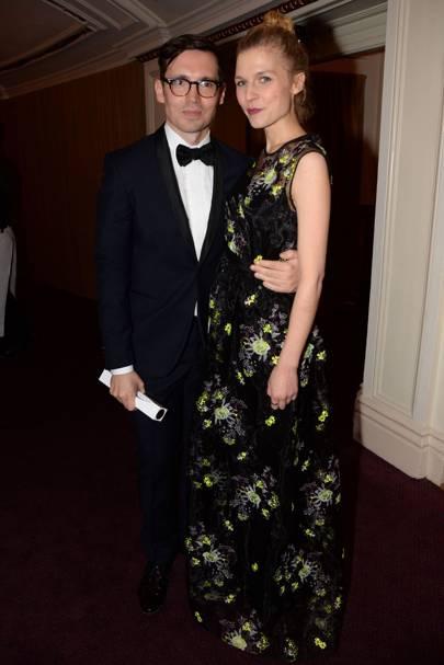 Erdem Moralioglu and Clémence Poésy