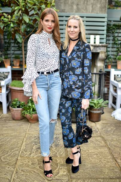 Millie Mackintosh and Alice Naylor-Leyland