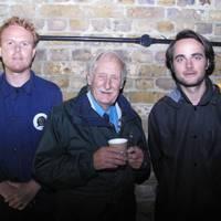 Luke Tipping, Trevor Baylis and Max Bergius