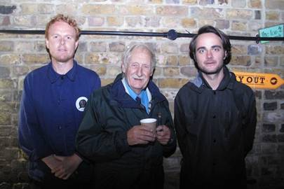 Luke Tipping, Trevor Baylis and Max Bergius