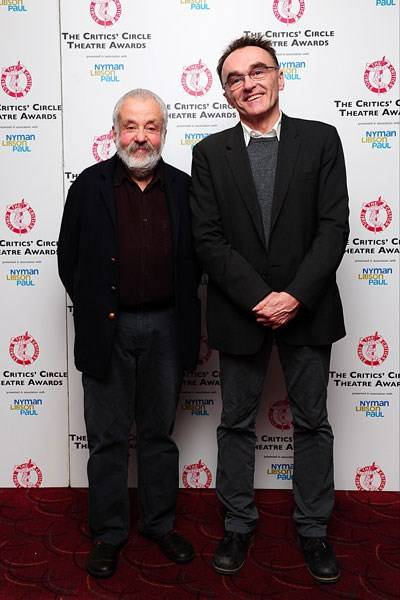 Mike Leigh and Danny Boyle