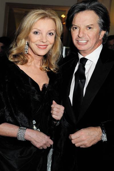 Mrs Richard Caring and Richard Caring