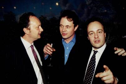 Matthew Brett, Seamus Wylie and James Macdonald-Buchanan