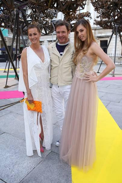 Yasmin Le Bon, Simon Le Bon and Amber Le Bon
