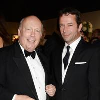 Lord Fellowes and James Purefoy