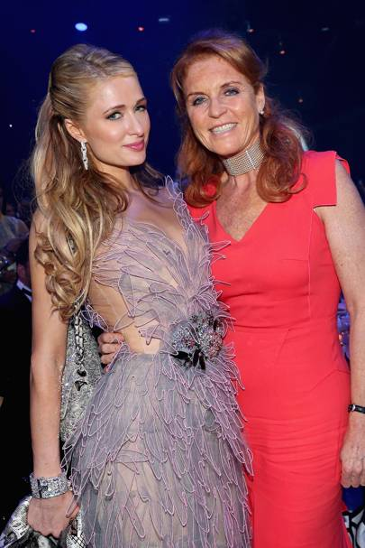 Paris Hilton and Sarah, Duchess of York