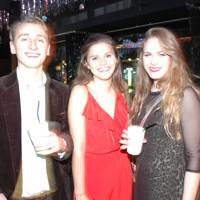 Max Carleton-Smith, Pom Oglivy and Sophie Wilson