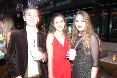 Max Carleton-Smith, Pom Oglivy and Sophie Wilson